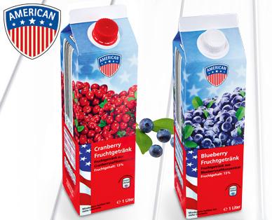 Blueberry- oder Cranberry-Fruchtsaftgetränk, Juli 2014