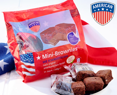 Mini-Brownies, 11x 20g, Juli 2014