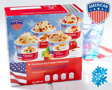 Premium Ice Cream Selection, 4x 100 ml, Juli 2014
