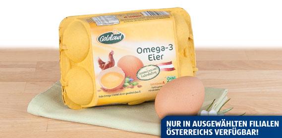 Omega-3 Freilandeier, Juni 2013