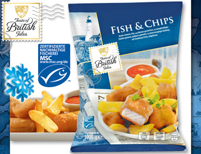 Fish & Chips, Juli 2013