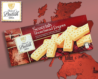 Scottish Shortbread Fingers, Juli 2014