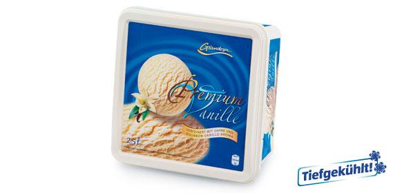 Premium-Eis Vanille, Juli 2013