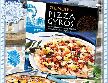 Steinofen Pizza Gyros, Juli 2013