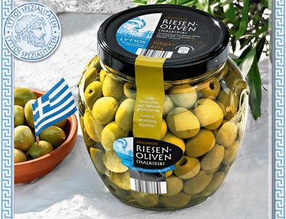 Griechische Riesen-Oliven, Juli 2013