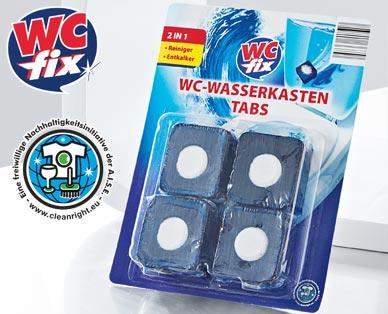 WC-Wasserkasten Tabs 2in1, 4x 50 g, Juli 2014