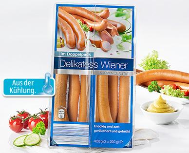 Wiener Würstchen, 8 Stück, Januar 2015
