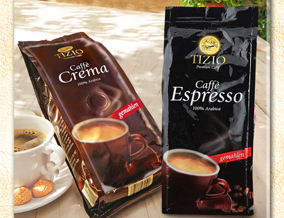 Caffè Crema oder Caffè Espresso, August 2013