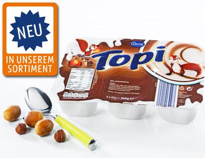 Topi-Dessert, 6x 60 g, September 2013