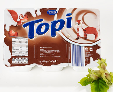 Topi-Dessert, 4x 100 g, September 2014