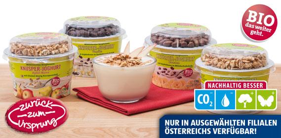 Bio-Bergbauern Knusper-Joghurt, September 2013