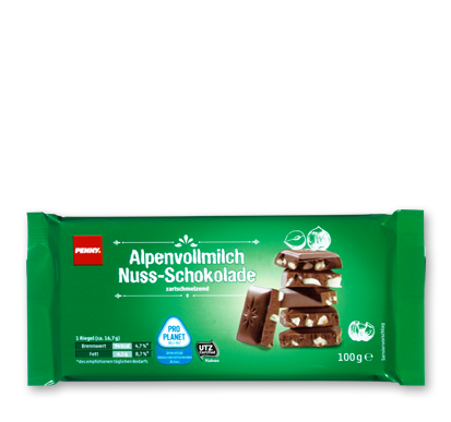 Alpenvollmilch-Nuss-Schokolade, M�rz 2016