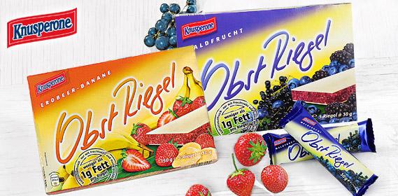 Obst Riegel, 5x 30 g, November 2011