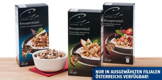 Knuspermüsli (Gourmet), Oktober 2013