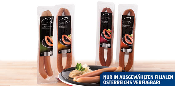 Gourmet Würstel, Oktober 2013