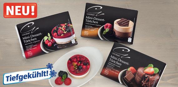 Mini-Dessert-Törtchen, Oktober 2013