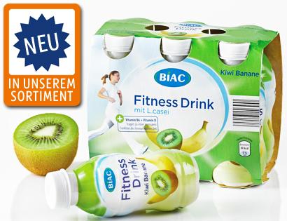 Fitness Drink, 6x 125 g, Oktober 2013