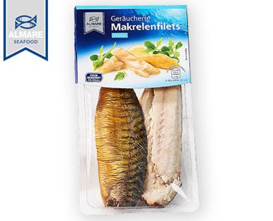 Geräucherte Makrelenfilets, November 2014