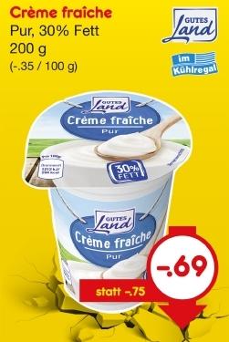 Crème fraîche (Creme fraiche), Mai 2018