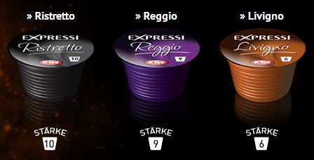 Espresso, 16 K-fee Kapseln, Oktober 2013