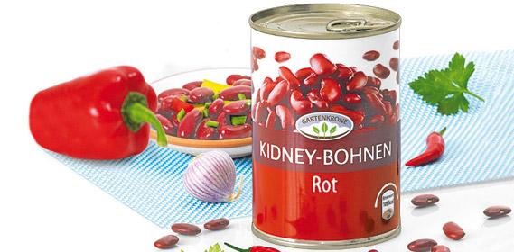 Kidney-Bohnen, Rot, Juli 2010