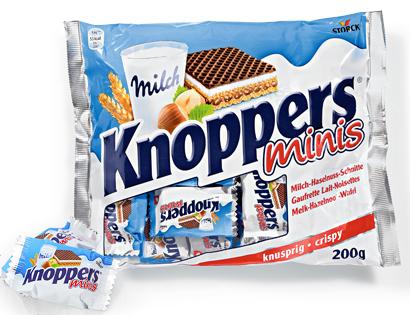 Knoppers Minis, Oktober 2013