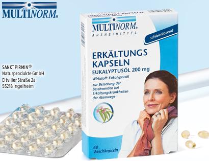 Erkältungskapseln Eukalyptusöl 200 mg, November 2013