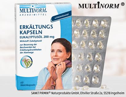 Erkältungskapseln Eukalyptusöl 200 mg, Dezember 2013