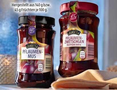 Pflaumenmus oder Pflaumen-Zwetschgen-Konfitüre, November 2013