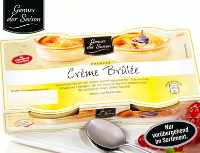 Crème Brûlée, 2x 100 g, M�rz 2014