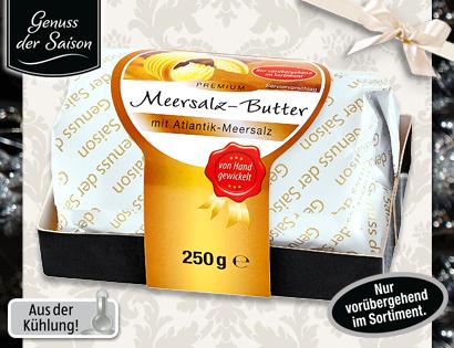 Meersalz-Butter, Dezember 2013