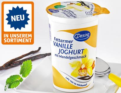 Fettarmer Vanillejoghurt, Dezember 2013