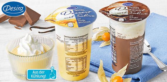 Dessert mit Sahne, feines, April 2012