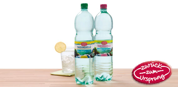 Mineralwasser Zurück zum Ursprung, Dezember 2013
