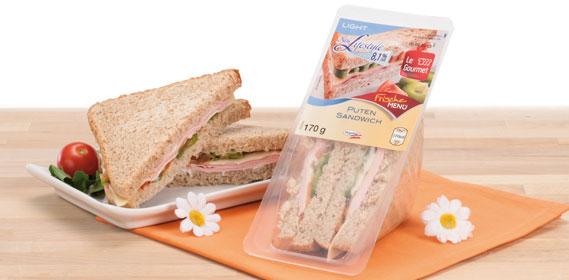 Frisches Sandwich leicht, Januar 2014