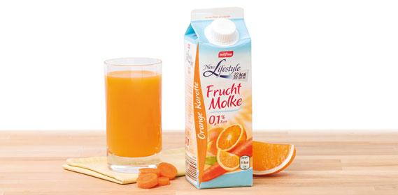 Fruchtmolke Orange-Karotte ligth (New Lifestyle), Januar 2014
