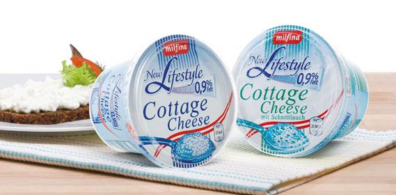 Cottage Cheese, fettreduziert (new Lifestyle), Januar 2014