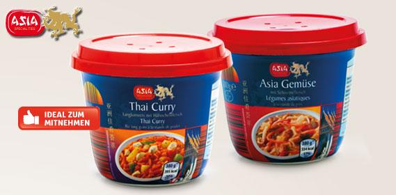 Asia Snack Becher, Januar 2014