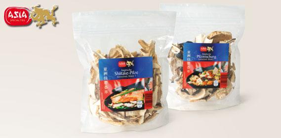 Asia Asiatische Pilze, Januar 2014