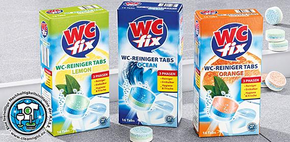 WC-Reinigertabs, 16x 25 g, Juli 2012