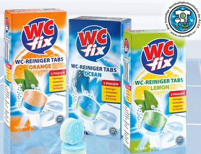 WC-Reinigertabs, 16x 25 g, Juli 2013