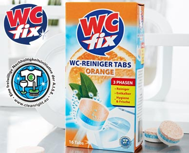 WC-Reinigertabs, 16x 25 g, Juli 2014