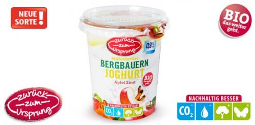Bio-Bergbauern Fruchtjoghurt 0,9% Fett, 400 g, Januar 2014