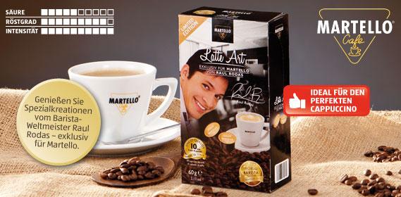Café-Kapseln Latte Art, Januar 2014