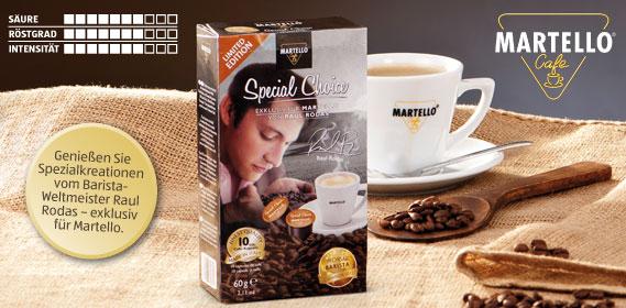 Café-Kapseln Special Choice, Januar 2014
