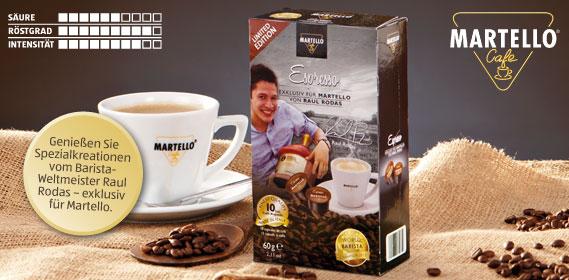Café-Kapseln Espresso, Januar 2014