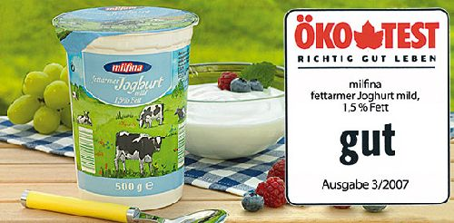 fettarmer Joghurt mild, Oktober 2007