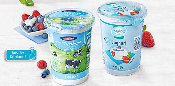 fettarmer Joghurt mild, April 2012