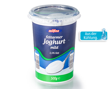 fettarmer Joghurt mild, April 2015