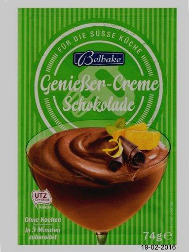 Genießercreme Schokolade, Februar 2016